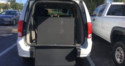 2016 Dodge Grand Caravan Rear Entry Wheelchair Van