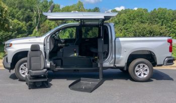 2019 Chevy Silverado 1500 LT – SETUP FOR WHEELCHAIR USER TO DRIVE TRUCK